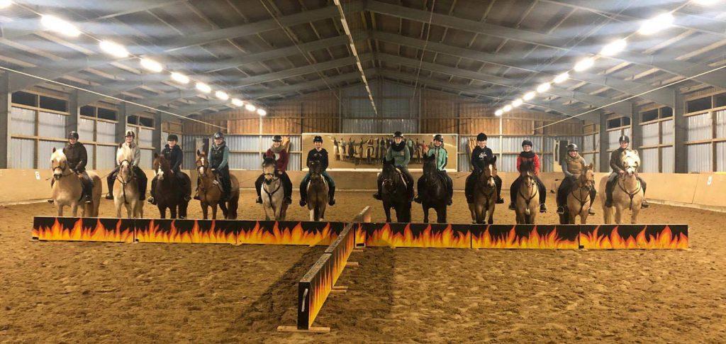 Das Ponyshowteam